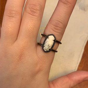Kendra Scott Elyse Howlite Ring